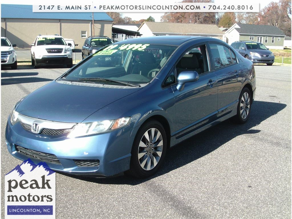 2009 Honda Civic EX Sedan  for sale by dealer