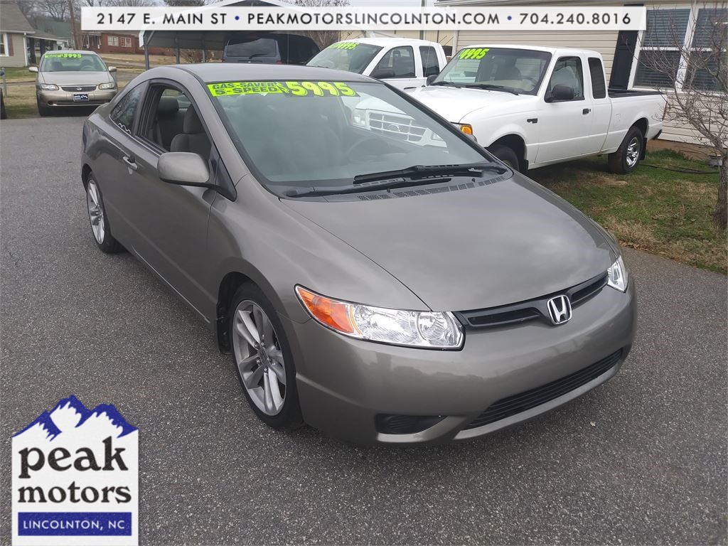 2008 Honda Civic Coupe Lincolnton NC