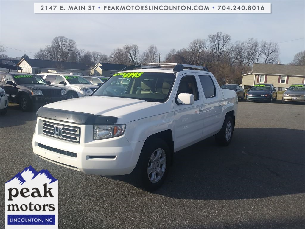 2006 Honda Ridgeline RTL with Moonroof & XM Radio for sale by dealer