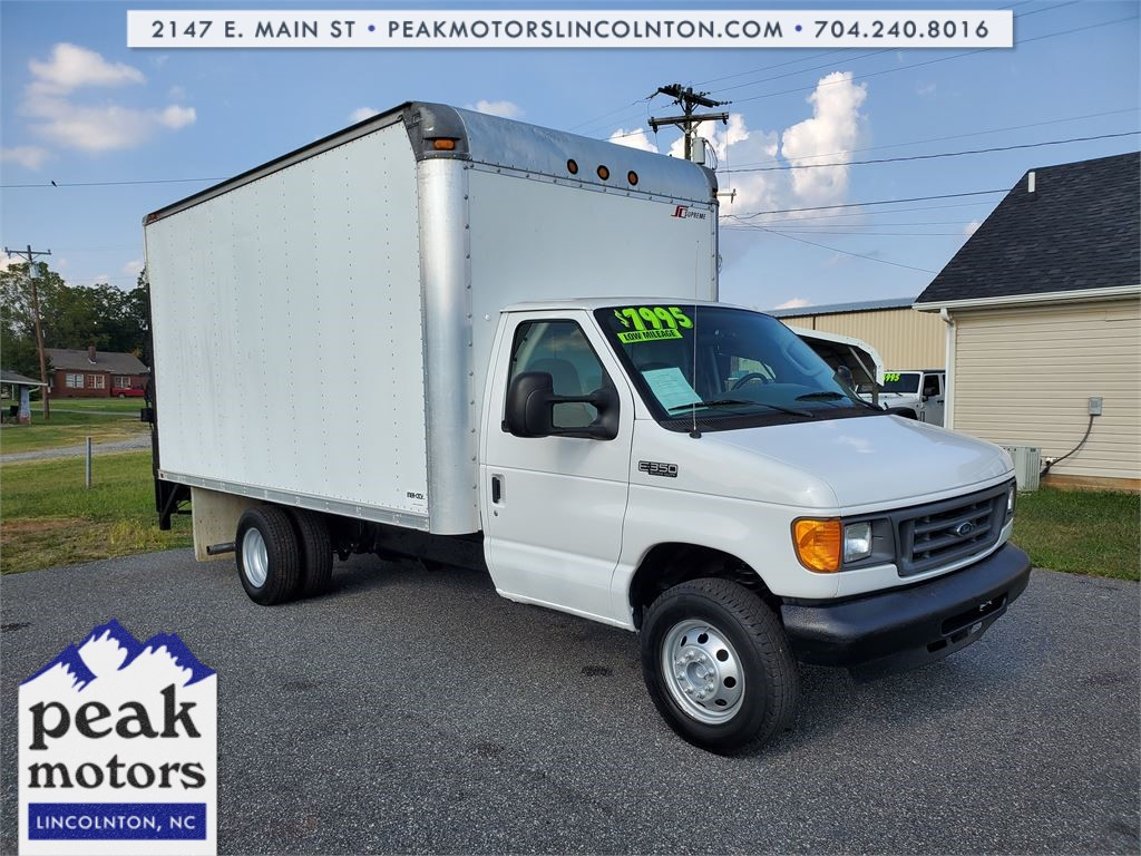 2005 Ford E-350 Super Duty 14FT BOX TRUCK for sale by dealer