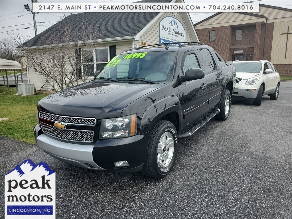 2013 Chevrolet Avalanche LT 4WD Black Diamond Ed for sale by dealer