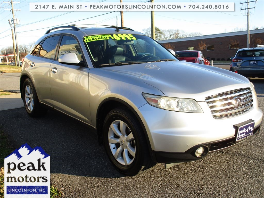 2005 Infiniti FX35 AWD for sale by dealer
