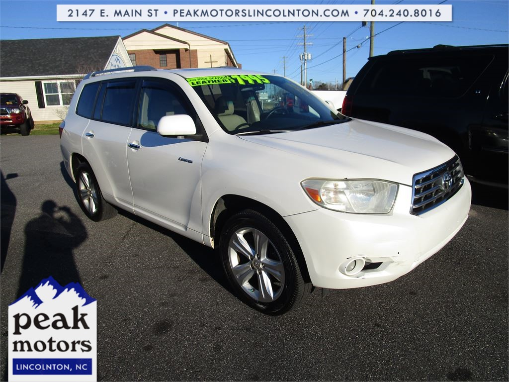 2009 Toyota Highlander Limited 2WD for sale by dealer