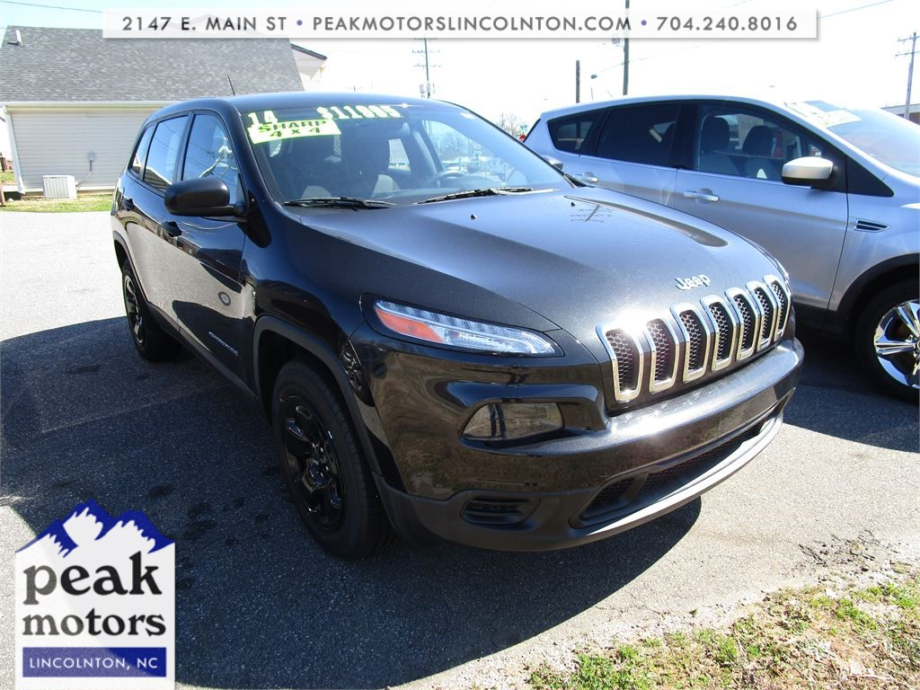 2014 Jeep Cherokee Sport 4WD for sale by dealer