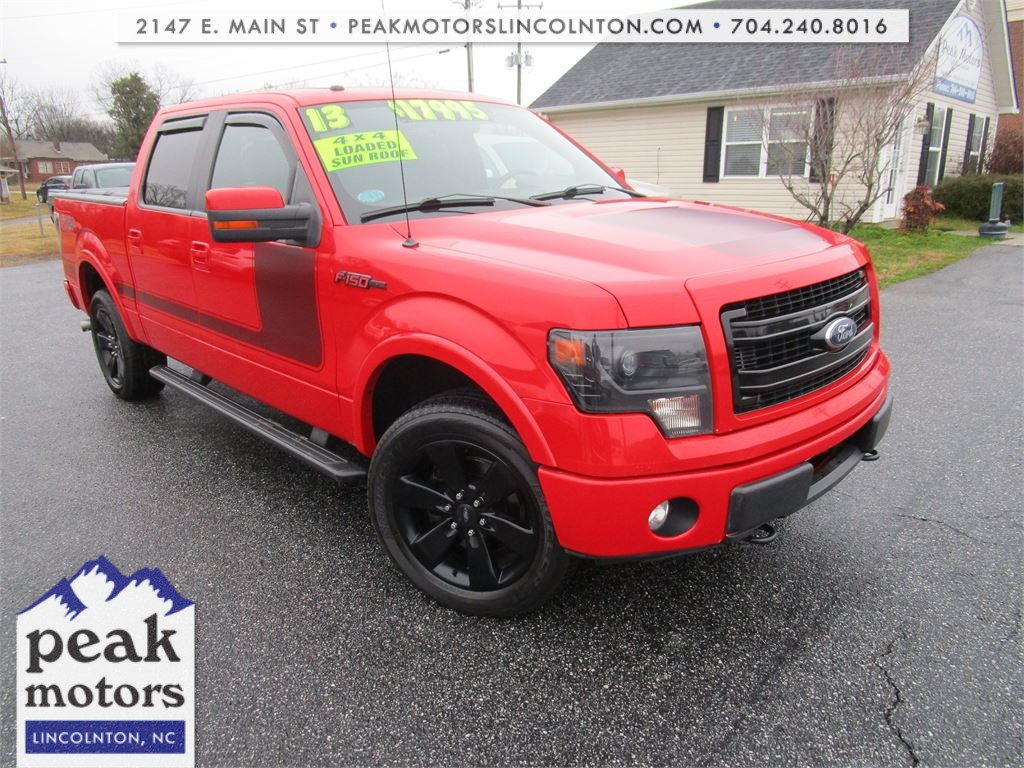 2013 Ford F-150 FX4 SuperCrew 5.5-ft. Bed 4WD for sale by dealer