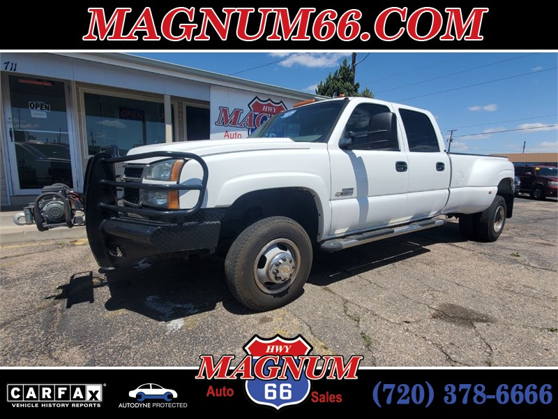 2006 CHEVROLET SILVERADO 3500 for sale by dealer