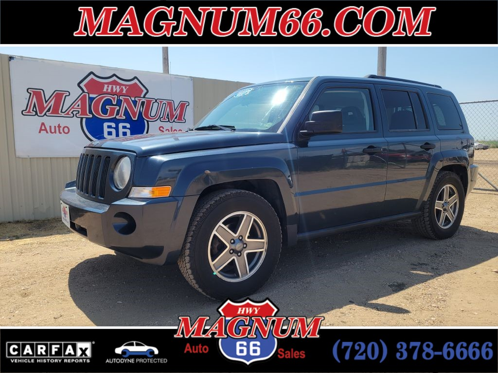 2008 JEEP PATRIOT SPORT for sale by dealer
