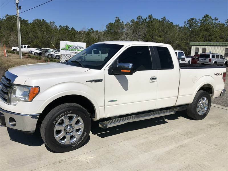 2013 FORD F150 SUPER CAB for sale by dealer