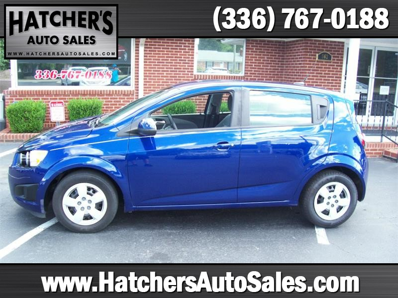 2013 Chevrolet Sonic LS Auto 5-Door for sale by dealer