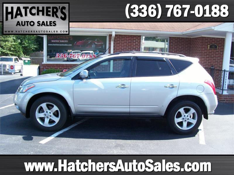 2004 Nissan Murano SL AWD for sale by dealer