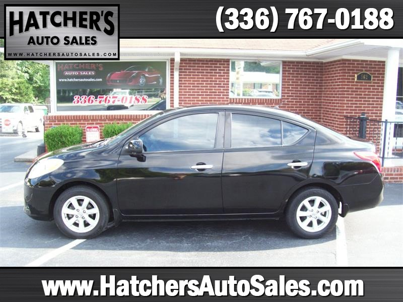 2012 Nissan Versa 1.6 SL Sedan for sale by dealer