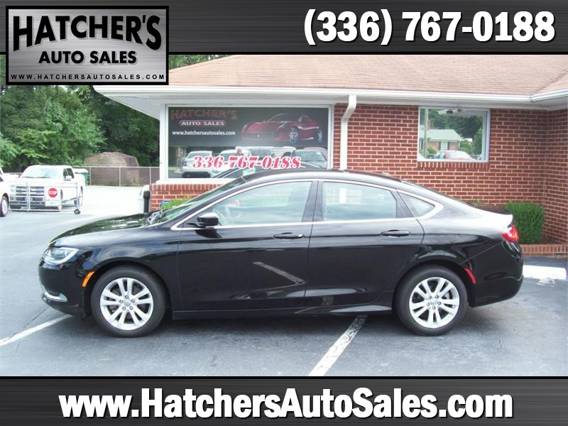 2015 Chrysler 200 Limited Winston-Salem NC