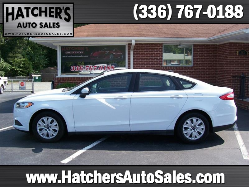 2013 Ford Fusion S for sale by dealer