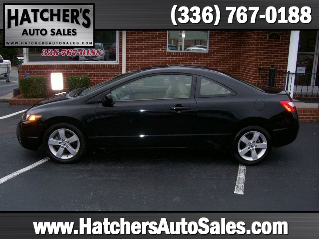 2006 Honda Civic EX Coupe AT for sale by dealer