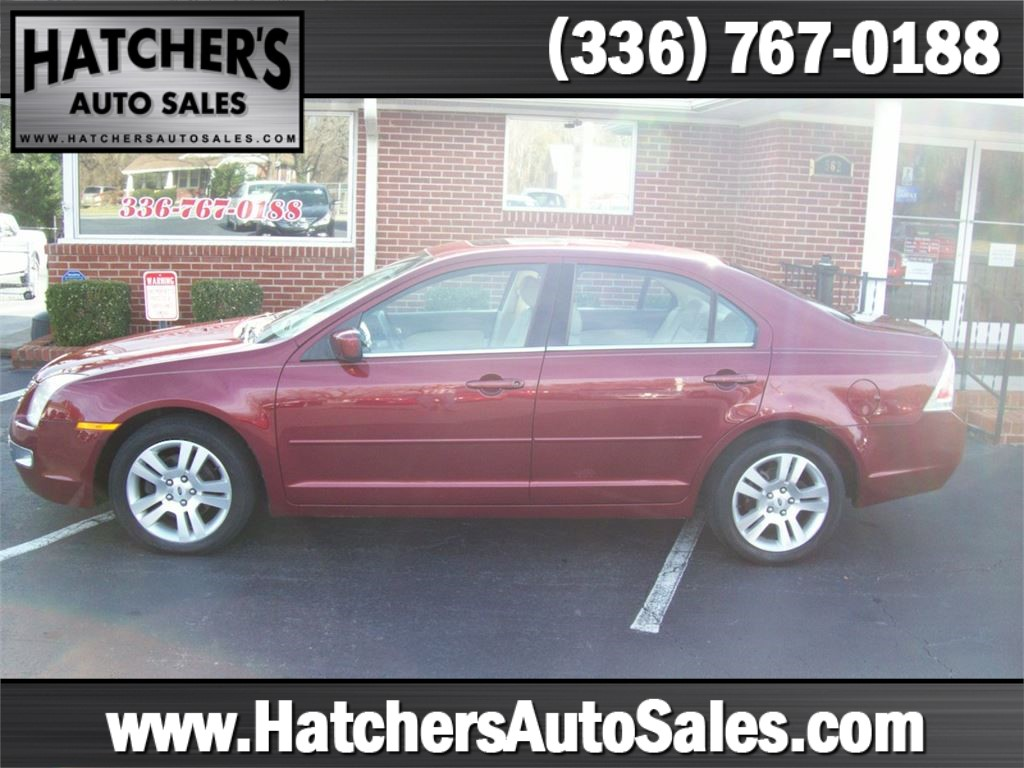 2007 Ford Fusion V6 SEL for sale by dealer