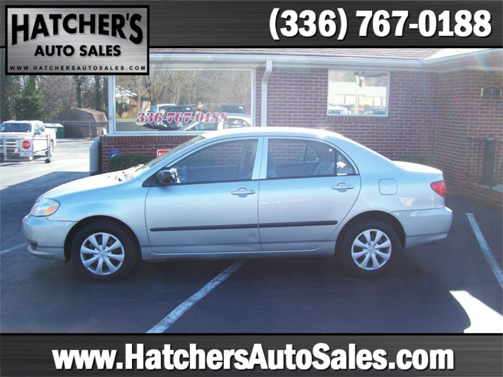 2004 Toyota Corolla CE for sale by dealer