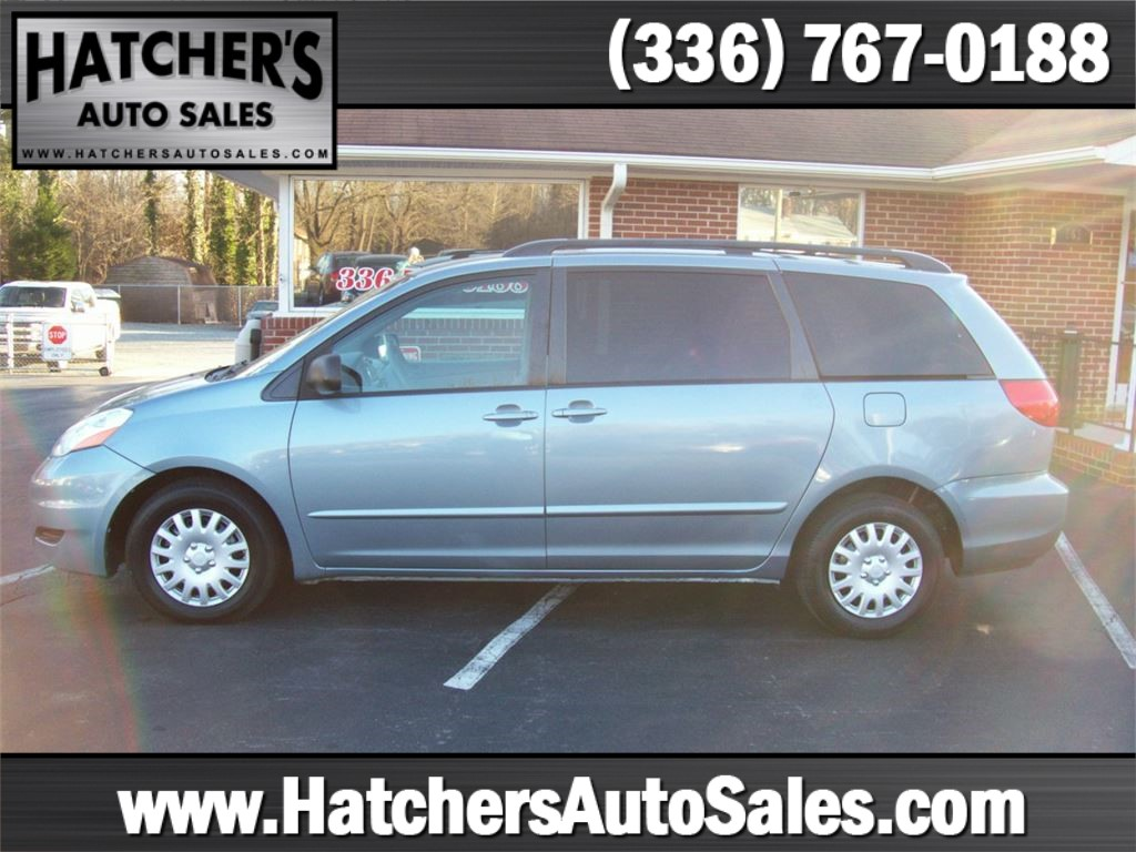 2008 Toyota Sienna LE FWD 7-Passenger Seating Winston-Salem NC