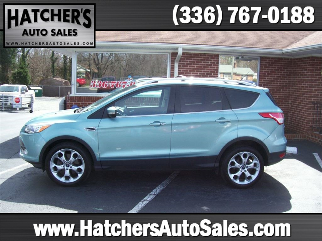 2013 Ford Escape Titanium 4WD for sale by dealer