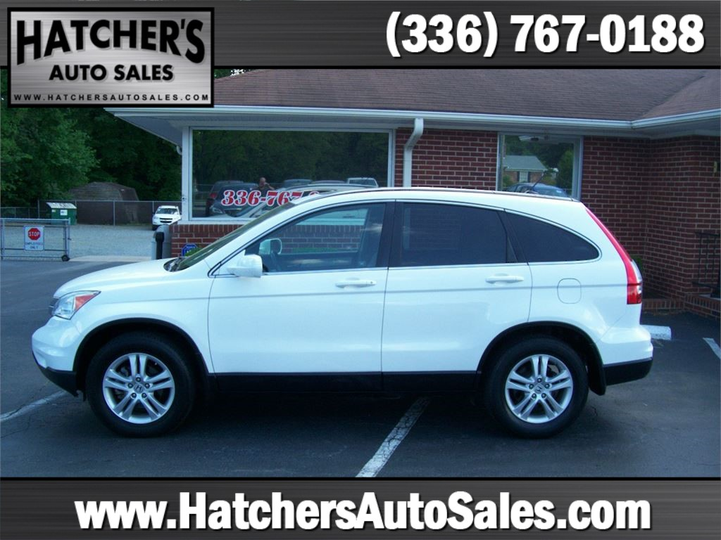 2010 Honda CR-V EX-L 2WD 5-Speed AT with Navigation Winston-Salem NC
