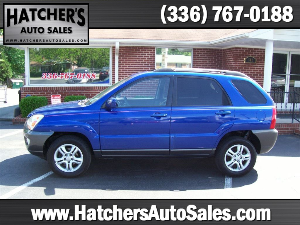 2005 Kia Sportage LX V6 4WD for sale by dealer