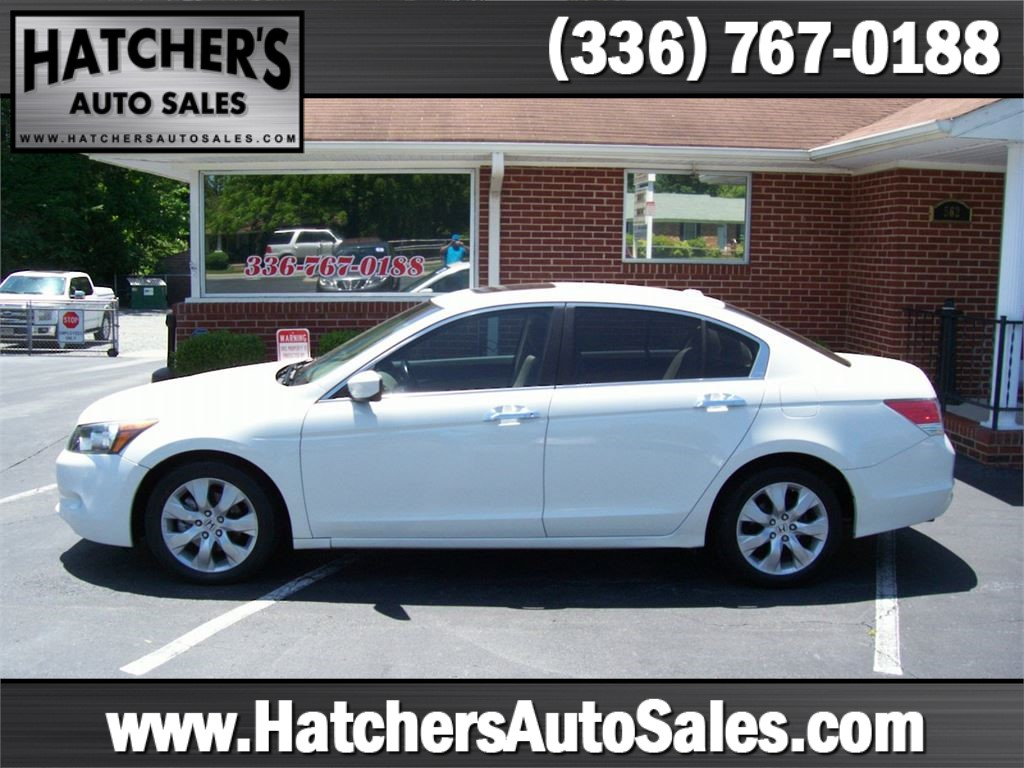 2009 Honda Accord EX-L V-6 Sedan AT Winston-Salem NC