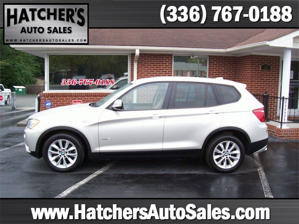 2014 BMW X3 xDrive28i for sale by dealer