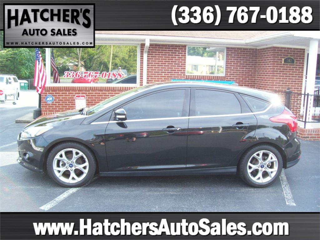 2014 Ford Focus Titanium Hatch for sale by dealer