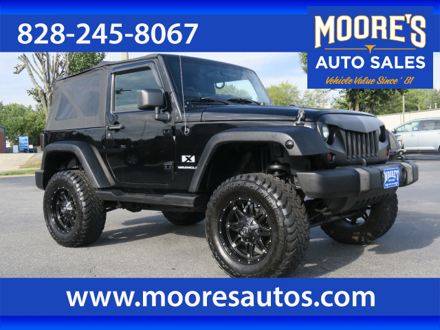 2007 Jeep Wrangler X for sale by dealer