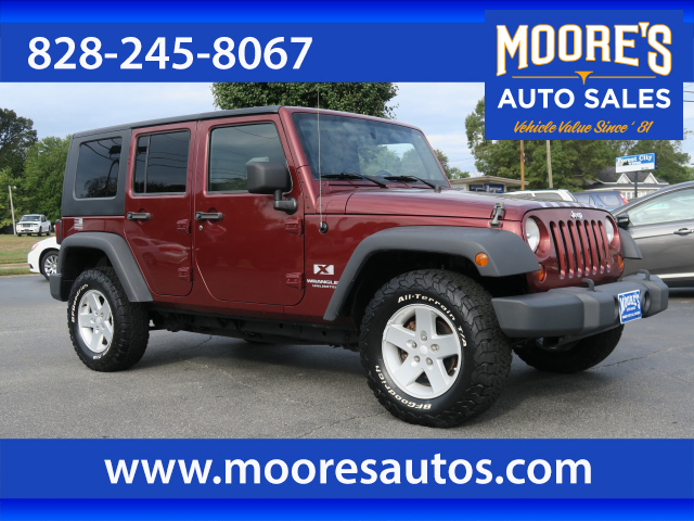 2008 Jeep Wrangler Unlimited X for sale by dealer