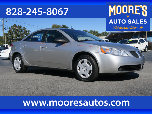 2008 Pontiac G6 Value Leader for sale by dealer