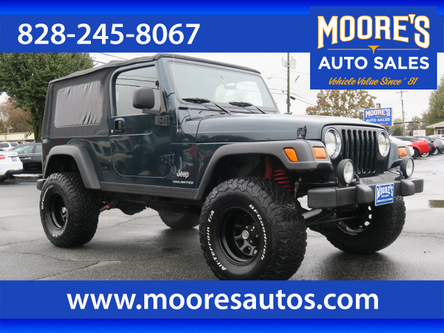 2005 Jeep Wrangler Unlimited Rubicon for sale by dealer