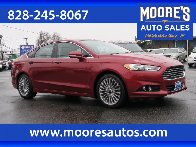 2014 Ford Fusion Titanium Forest City NC