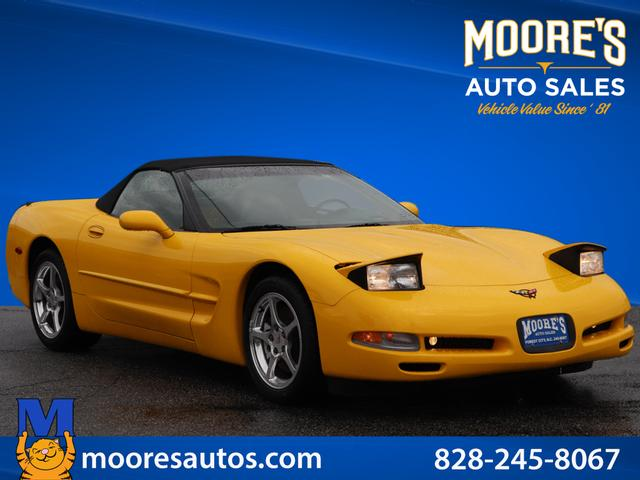 2001 Chevrolet Corvette Base for sale by dealer
