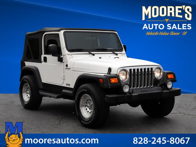 2003 Jeep Wrangler Sport for sale by dealer