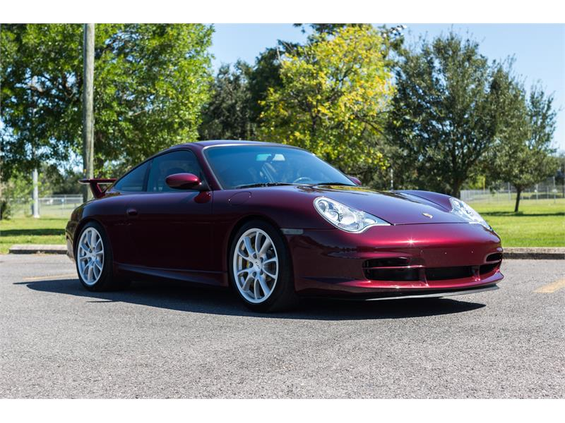 2004 Porsche 911 GT3 for sale by dealer