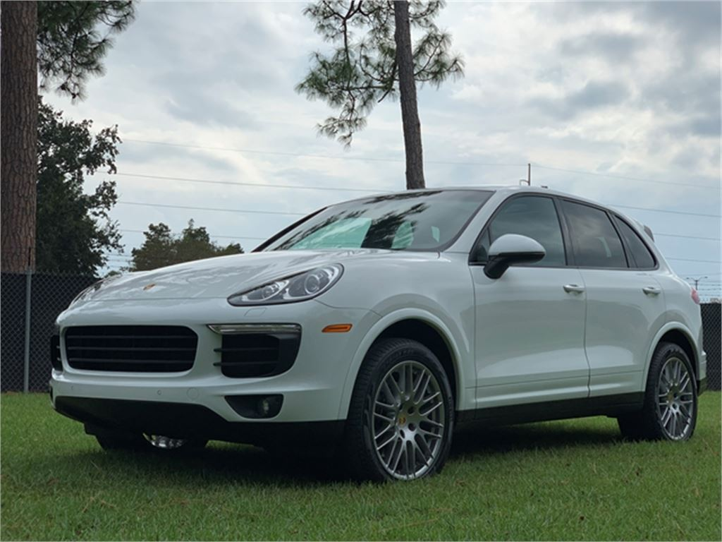 2018 Porsche Cayenne Platinum for sale by dealer