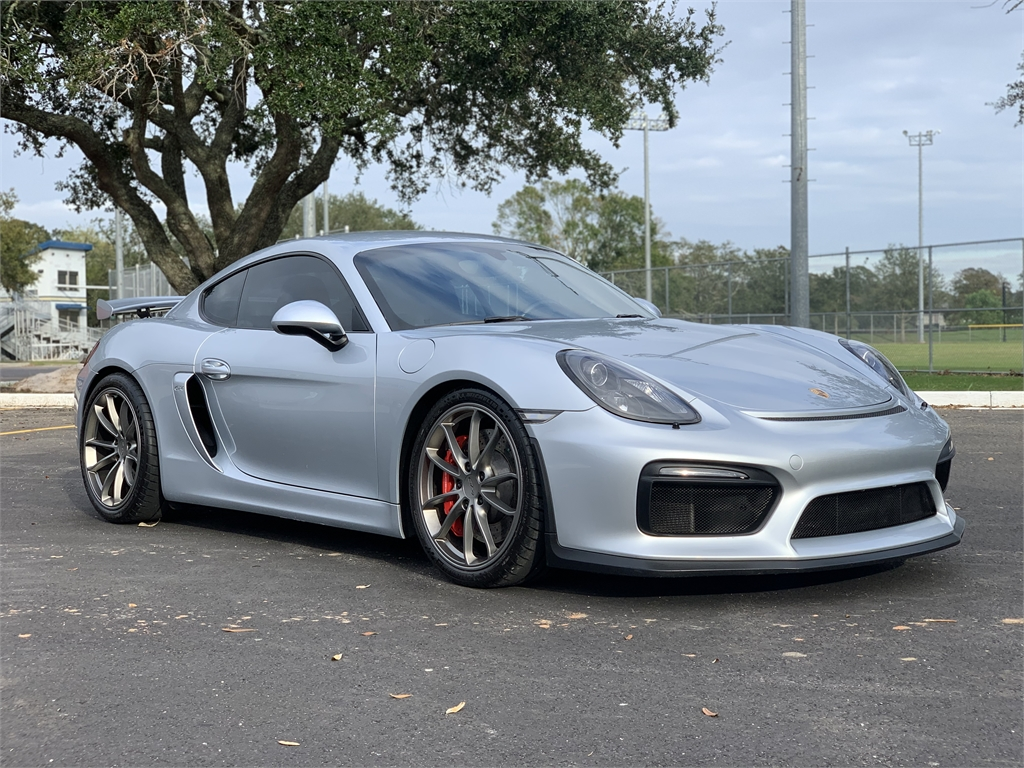 2016 Porsche Cayman GT4 for sale by dealer