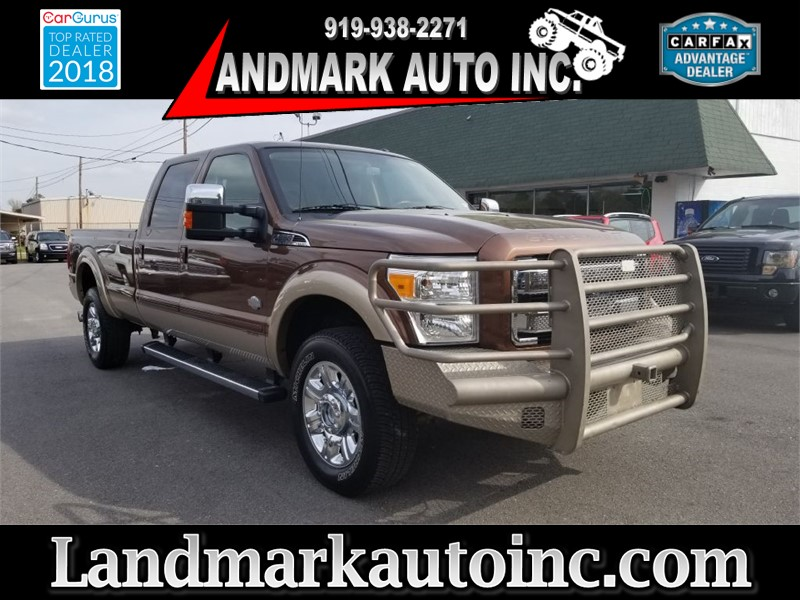 2012 FORD F350 KING RANCH CREWCAB 4WD Smithfield NC