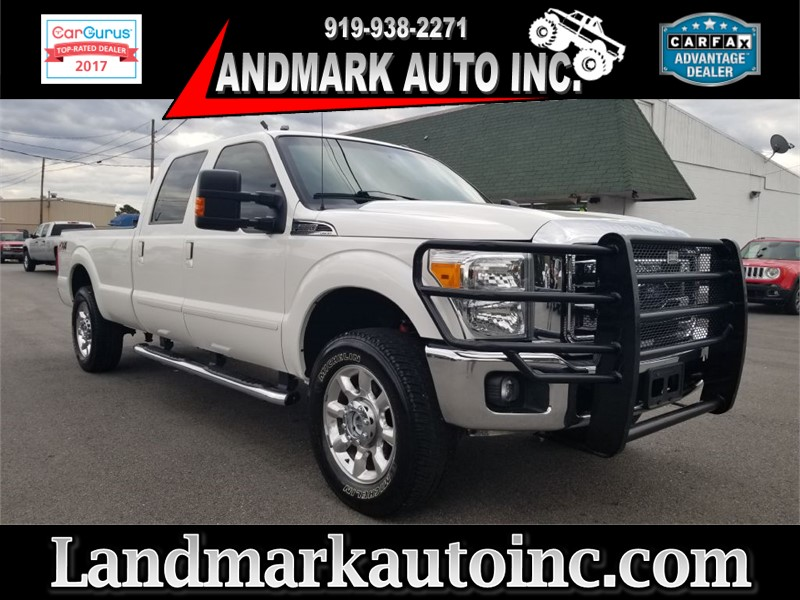 2014 FORD F250 LARIAT CREWCAB SRW 4WD for sale by dealer