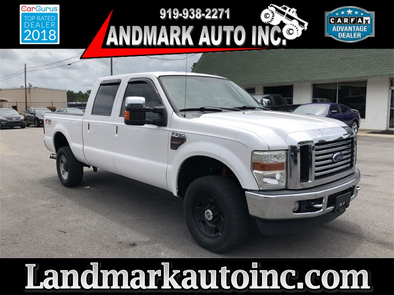 2010 FORD F250 LARIAT CREWCAB 4WD for sale by dealer