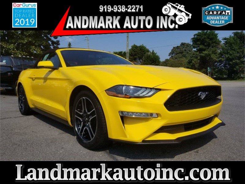 2018 FORD MUSTANG for sale by dealer