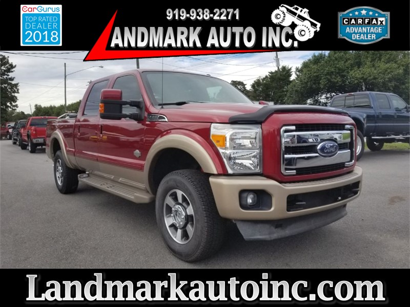 2013 FORD F250 SUPER DUTY KING RANCH for sale by dealer
