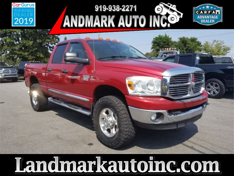 2009 DODGE RAM 2500 SLT CREWCAB 4WD SB for sale by dealer