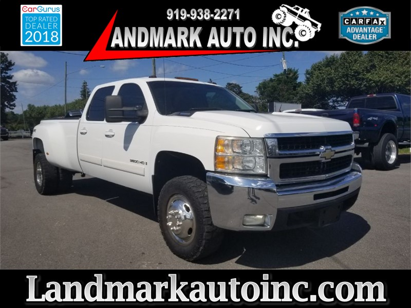 2008 CHEVROLET SILVERADO 3500 DRW LTZ for sale by dealer