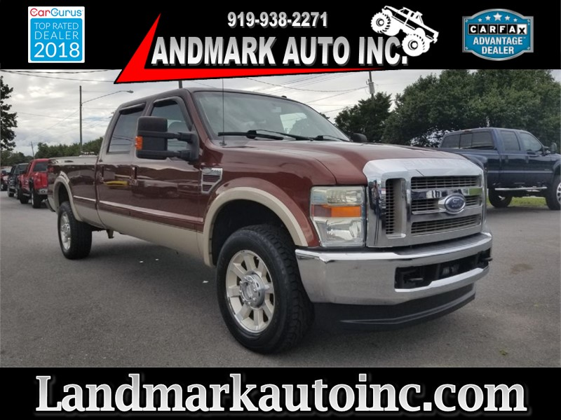 2008 FORD F350 SUPER DUTY KING RANCH 4WD Smithfield NC