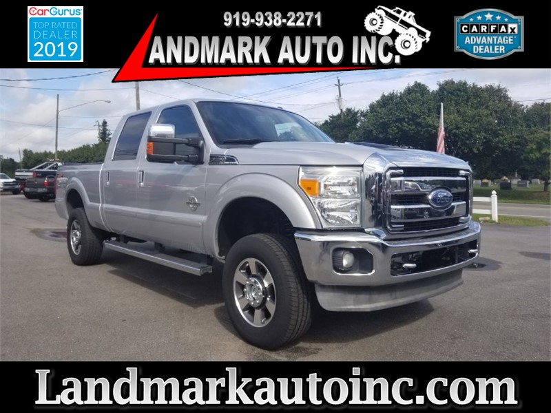 2011 FORD F250 SD  LARIAT CREWAB 4WD SB for sale by dealer