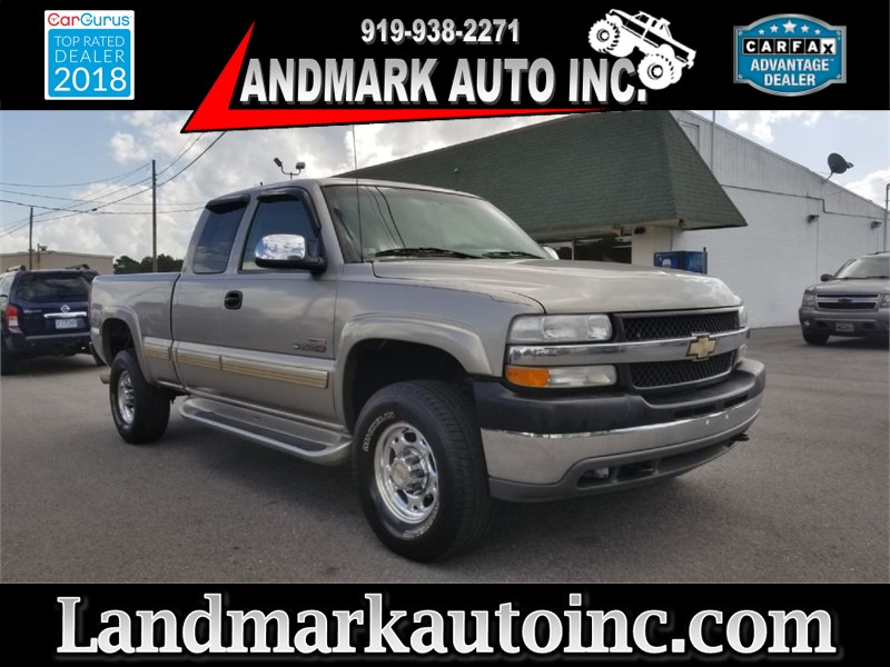 2001 CHEVROLET SILVERADO 2500  HEAVY DUTY for sale by dealer
