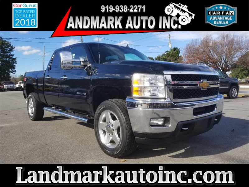 2013 CHEVROLET SILVERADO 2500  HEAVY DUTY LTZ for sale by dealer