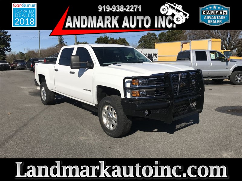 2015 CHEVROLET SILVERADO 2500  HD LT CREWCAB 4WD SB for sale by dealer