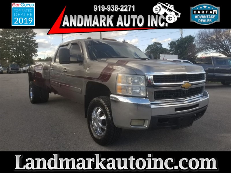 2008 CHEVROLET SILVERADO 3500 DRW LTZ CREWCAB 4WD LB for sale by dealer